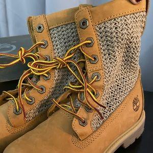 Rare Timberland boots, women size 5.5